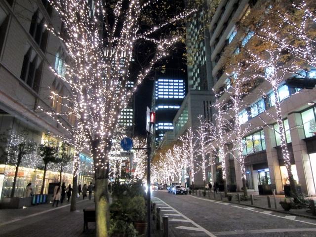 東京都心のイルミネーション
