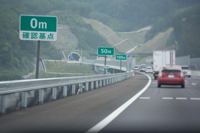 高速道路暫定2車線に追い越し車線