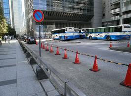 東京駅「日本橋口」一般車規制により待機困難