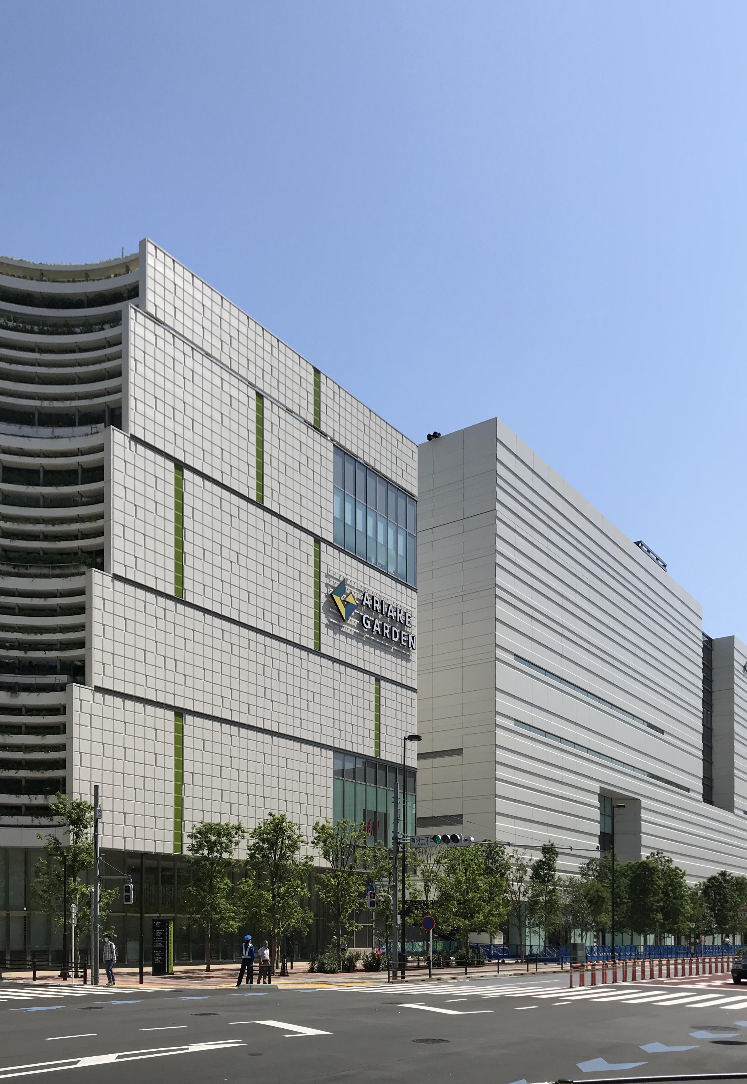 「住友不動産 ショッピングシティ 有明ガーデン」が6月17日に開業